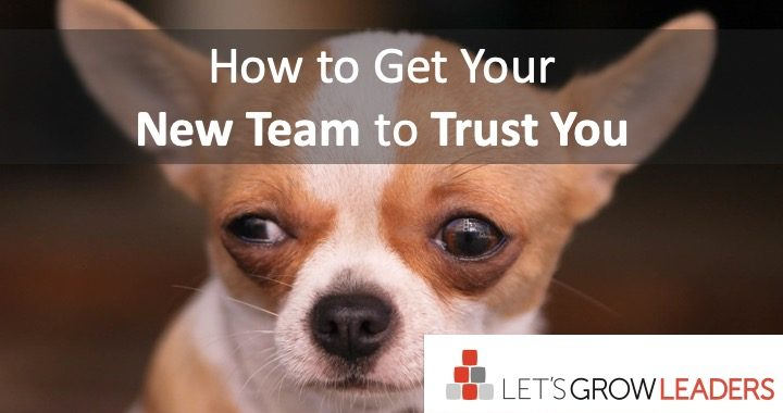 How to get your team to trust you