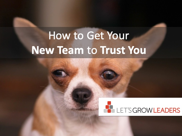 How to Get Your New Team to Trust You