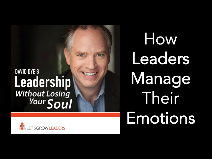 How Leaders Manage Their Emotions