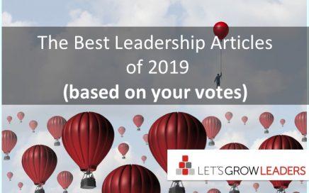 Best leadership articles of 2019