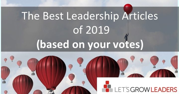 Best leadership articles of 2019