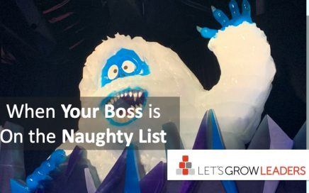 When your boss is on the naughty list