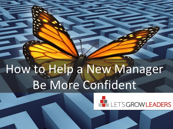 How to Help a New Manager Be More Confident