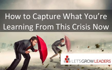 questions to learn from crisis