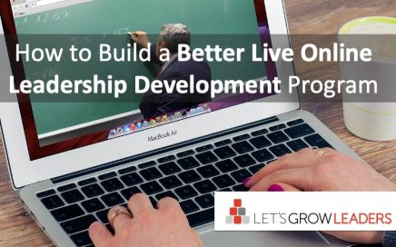 how to build a better live online leadership development program