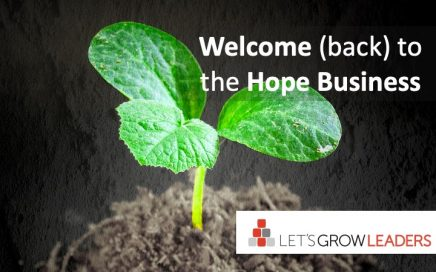 welcome to the hope business