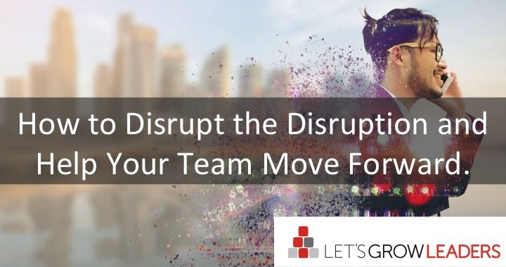 How to Disrupt the Disruption