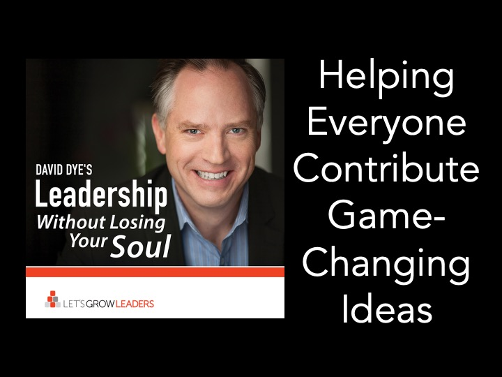 helping everyone contribute game changing ideas
