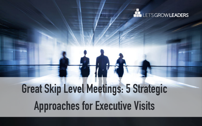 Great Skip Level Meetings:  5 Strategic Approaches for Executive Visits