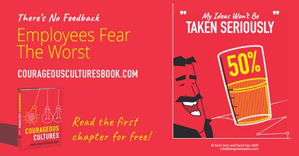 employees fear ideas wont be taken seriously