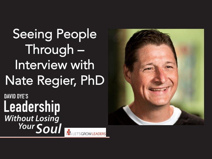 Seeing People Through Interview with Nate Regier