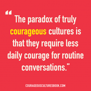 The Courage Paradox