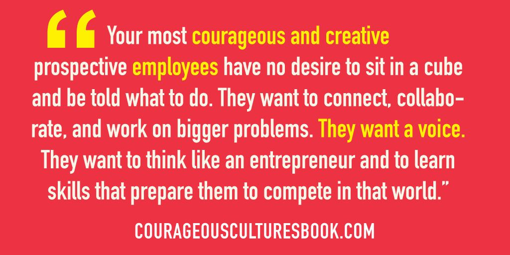 Courageous Cultures by Karin Hurt and David Dye