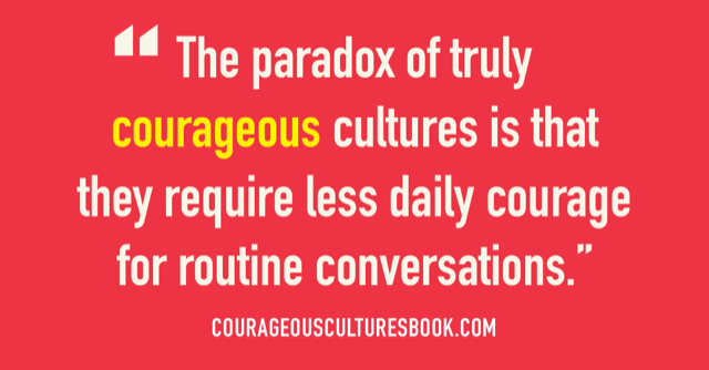 Overcoming the Paradox: How to Get Started Building a Courageous Culture