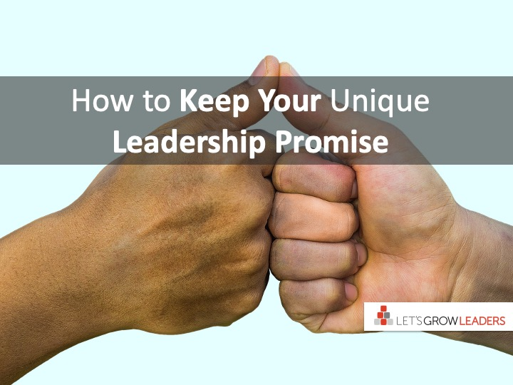 What is Your Unique Leadership Promise?