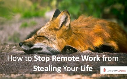 stop remote work from stealing your life