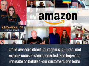 Amazon leading remote teams