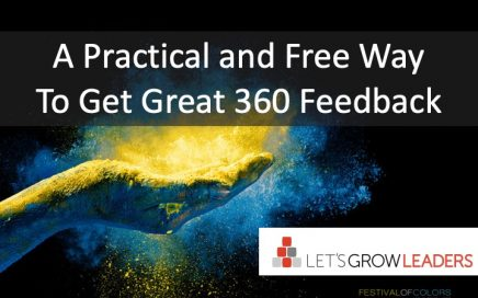 A Practial and Free Way to Get Great 360 Feedback