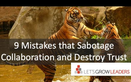 9 Mistakes That Sabotage Collaboration