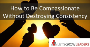 How to be compassionate without destroying consistency