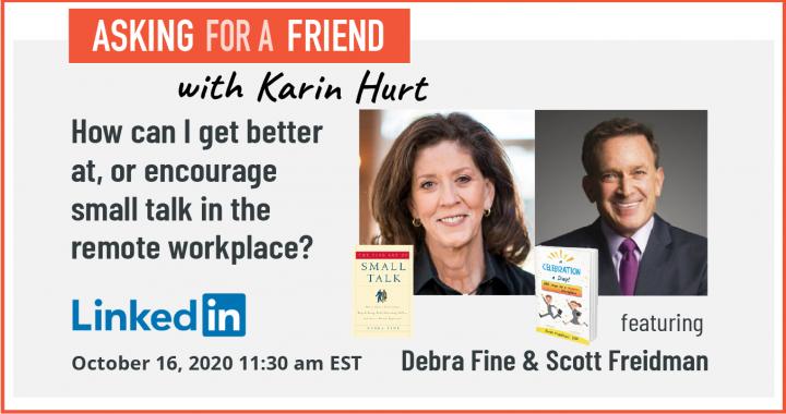 Debra Fine and Scott Friedman