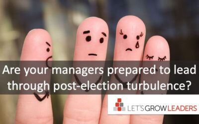 How to Help Your Team Prepare for the Turbulent Aftermath of the Election