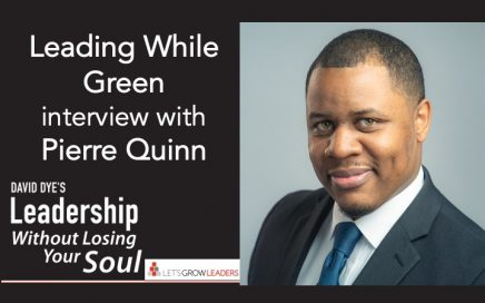 Leading While Green Interview Pierre Quinn