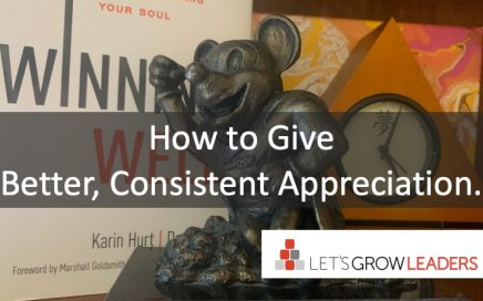 How to Give Better, Consistent Appreciation