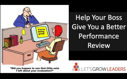 how to help your boss give you a better performance review