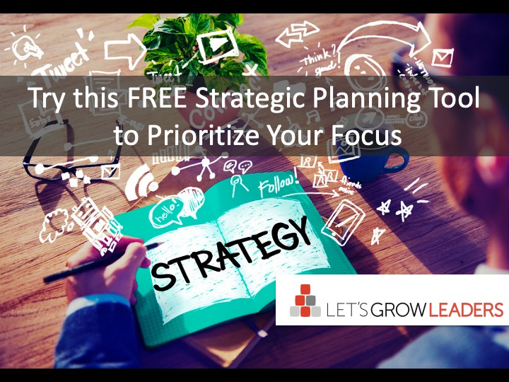 Strategic Planning Tool: How to Engage Your Team in Better Conversation