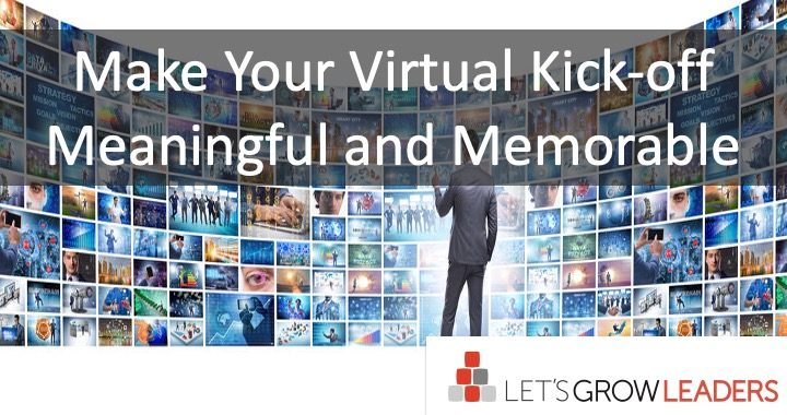 How to host a great virtual kick-off