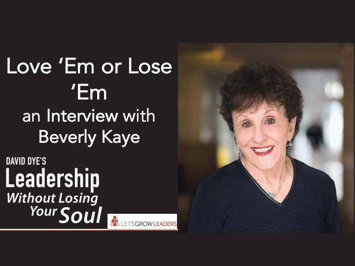 Love Em or Lose Em Interview with Bev Kaye