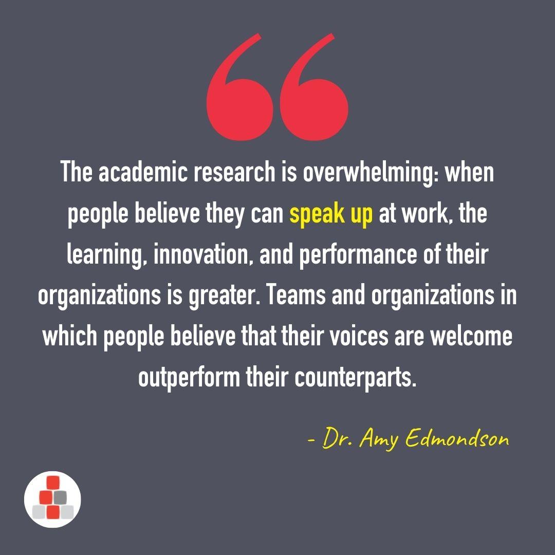 Amy Edmondson Quote