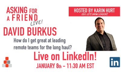 How Do I Get Better at Leading Remote Teams? with David Burkus