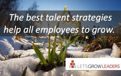 the best talent strategies help all employees to grow