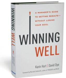 Karin Hurt David Dye Winning Well Book