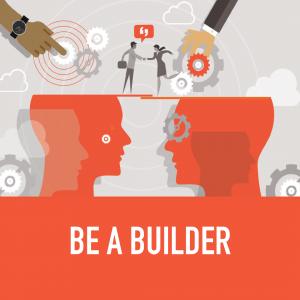leadership training - be a builder