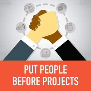 virtual and hybrid leadership training puts people before projects
