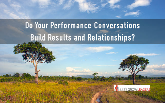 How to have more meaningful performance conversations