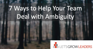 Leading remote teams and dealing with ambiguity