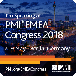 PMI EMEA Congress 2018 Karin Hurt and David Dye