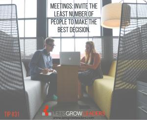 Meetings wtih Clear Purpose
