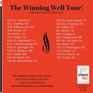 The Winning Well Tour!