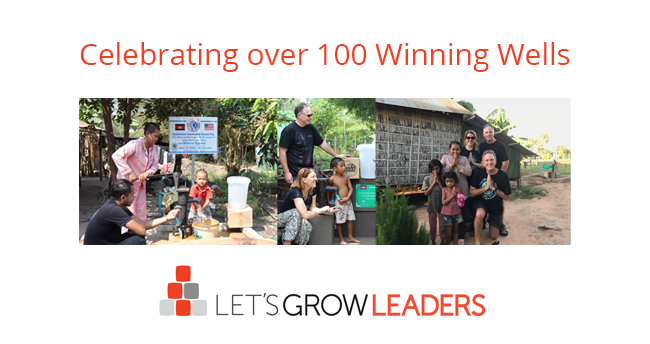 Celebrating 100 Winning Wells Providing Clean Water in Cambodia