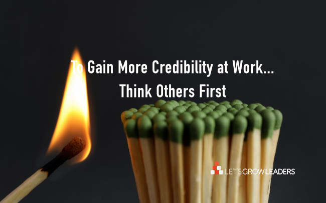 4 Simple Ways to Gain More Credibility at Work