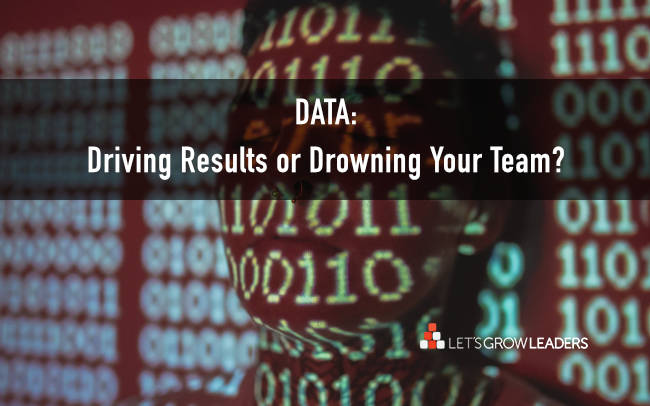 motivate your team - data to drive not drown