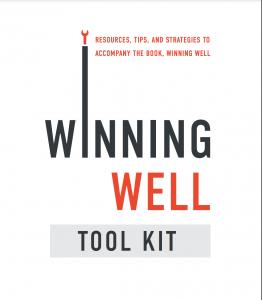 winning well toolkit