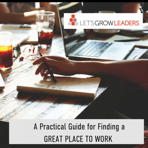 A Practical Guide to Finding a Great Place to Work