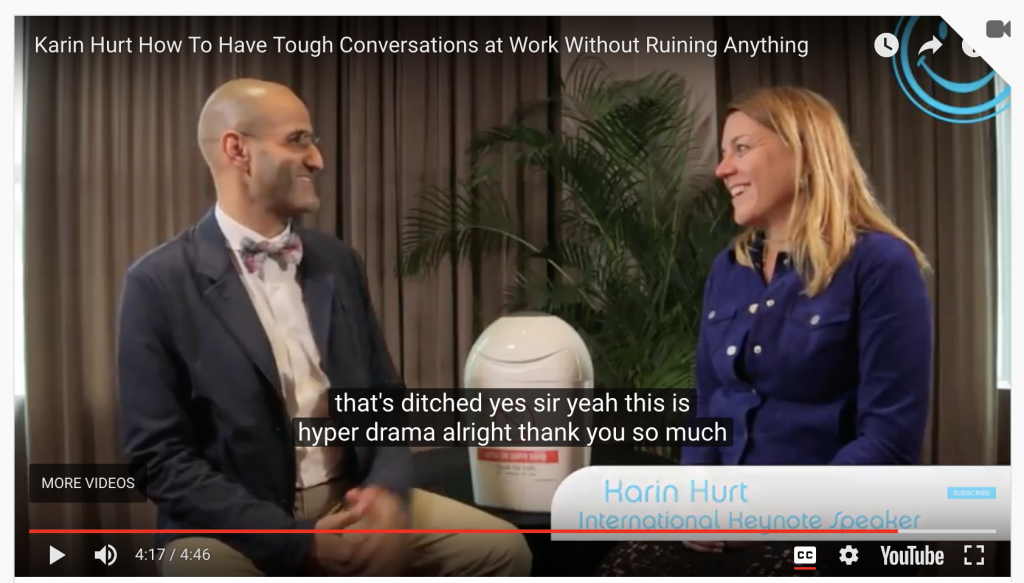 How to Have Tough Conversations at Work An Interview