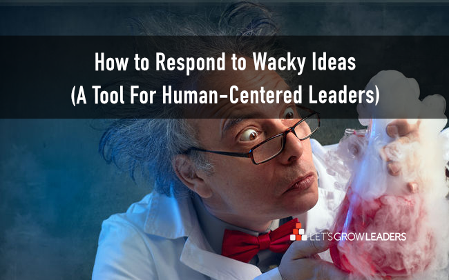 How to Respond to Wacky Ideas